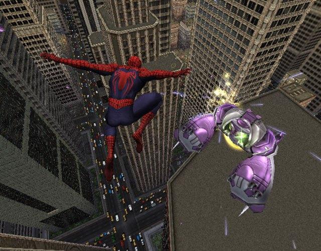Скачать игру Spider-Man: The Movie (296 МБ). Интерфейс. русский. Жанр. не