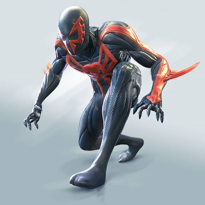 Как сделать костюм человека паука 2099